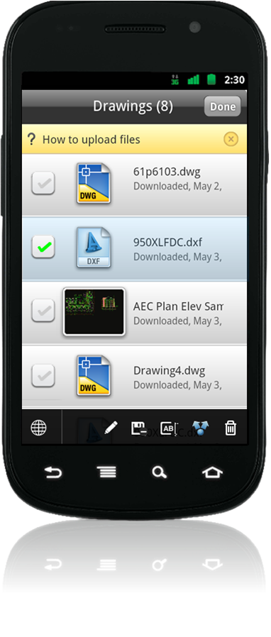Autocadws_filemanagement_android