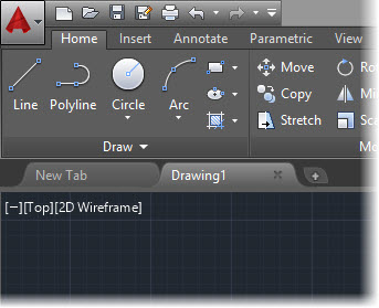 AutoCAD 2015-Darker Interface