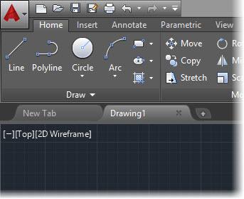 AutoCAD 2015-Darker Interface
