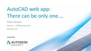 016 AU2018 - AS196709 AutoCAD web app class